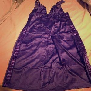 Victoria's Secret knee length royal purple slip